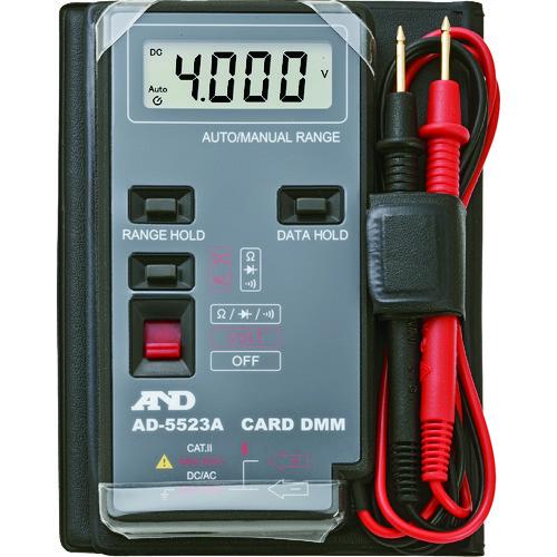 A&D デジタルマルチメーターカードタイプ最大1999カウント AD5523A