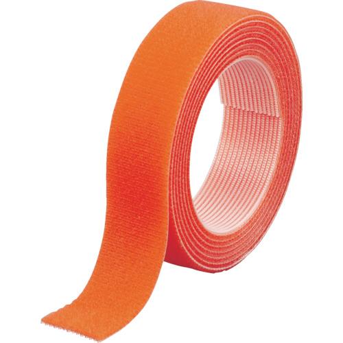 トラスコ中山(TRUSCO) マジックバンド結束テープ 両面 幅20mmX長さ1.5m オレンジ MKT-2015-OR