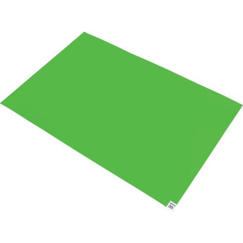 トラスコ中山(TRUSCO) 粘着クリーンマット グリーン 1シート CM6090-1GN
