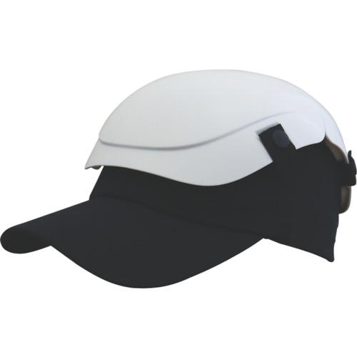 トラスコ中山(TRUSCO) 防災用セーフティ帽子 キャメット ホワイト  TSCM-W