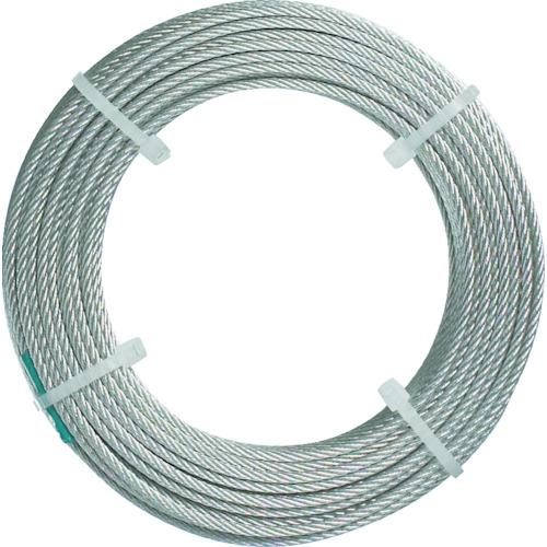 トラスコ中山(TRUSCO) ステンレスワイヤロープ ナイロン被覆 Φ2.0(2.5)mmX50 CWC-2S50