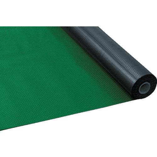 TRUSCO 塩ビマット ダイヤ型 グリーン 1.5mmX915mmX20mTEDM920GN