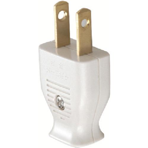 明工 平形スモールプラグ(乳白) MP2539W1