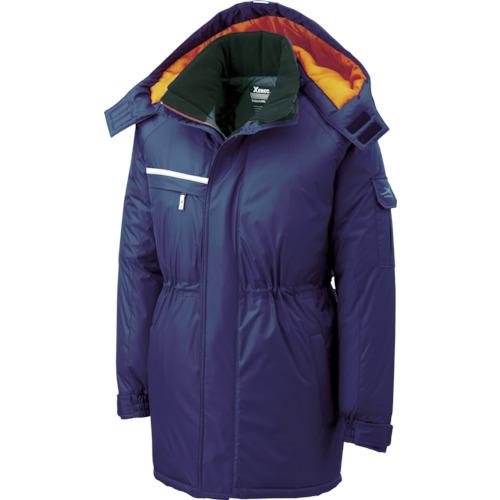 ■ジーベック 581581防水防寒コート 紺 L 58110L