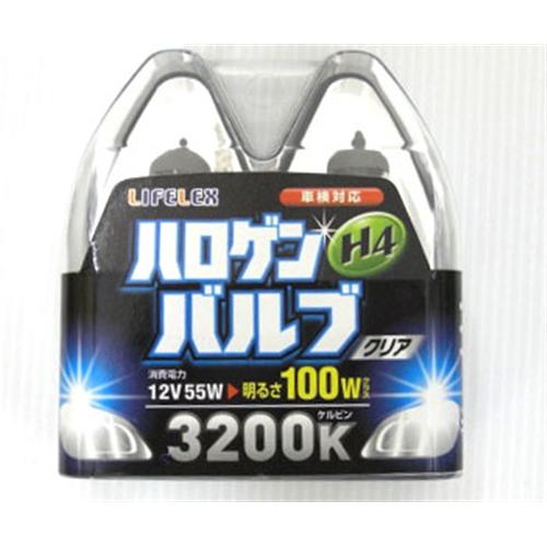 ◇ コーナン オリジナル LIFELEX ハロゲンバルブH4 KOT07−5872